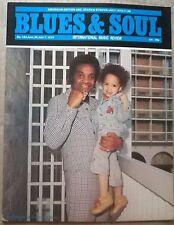 JOE SIMON in BLUES&SOUL MagNo 163.June24-July7 1975+JACKIE WILSON+SPINNERS+++Ex!