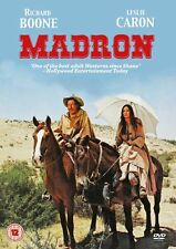 MADRON CLASSIC WESTERN DVD NEW Richard Boone Leslie Caron Apaches