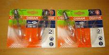 3 x Osram Lampes halogènes CLASSIC ECO SUPERSTAR    - E14, 230V - 20W - 235LM.