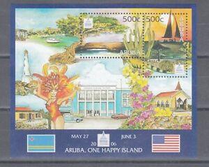 Aruba  Block 5   ** (mnh)