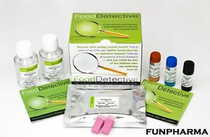 Food Detective Food Intolerance Kit, Allergy Test, 59 Foods - 1st Class Shipping