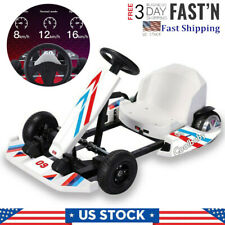 Electric Go-Kart Riding Toy 36V Electric Kart Outdoor Racing Scooter With Led Us