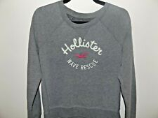 Super Cute Hollister Sweat shirt,Womens, Gray, Size Medium
