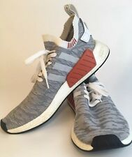 Adidas NMD R2 Boost Gradient Camo Grey Rust Sz 12.5 B Condition Street Casual
