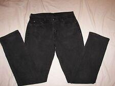 Women's Levi's Black Denim Jeans - 10 L