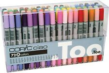 TOO Copic Ciao 72 color A Set Premium Artist Markers Anime Comic F/S