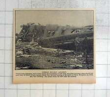1925 Appalling Railway Accident Berlin To Cologne Express Herne Westphalia