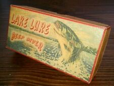 Lake Lure North Carolina fishing lure box use as cabin decoration Dirty Dancing