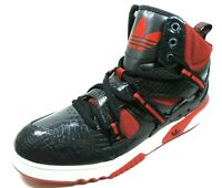 Adidas RH Instinct G99954 Mens Shoes Basketball Black Red Sneakers Leather Rare