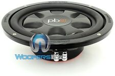 """POWERBASS S-10TD 10"""" DUAL 4-OHM AUTOSOUND S SERIES SHALLOW MOUNT SUBWOOFER"""