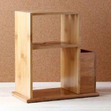 Bamboo modern Knife Shelf Rack Display Stand Kitchen Wooden Arrangement