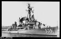 USS Miller DD-535 postcard US Navy Destroyer