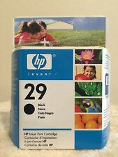 HP 29 Black Inkjet Cartridge, 51629A - Genuine - New - Sealed