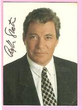 William Shatner Autograph card - Tek World - very rare