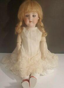 """Antique 22"""" German Bisque Armand Marseille 390 Doll"""