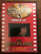 Bruce Le Yang Sze THE SUPERGANG ~ Old School Martial Arts Classic UK DVD
