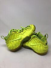 "Nike Air Foamposite Pro ""Volt"" Size 7.5 NEON YELLOW GREEN HIGHLIGHTER"