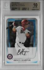 2011 Bryce Harper Bowman Chrome Prospects RC... Graded BGS 10 Pristine
