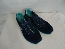 Sketchers Relaxed Fit Memory Foam Air Cooled slip on Sneakers Blue Teal sz 7