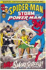 Stan Lee ~ Spider-Man, Storm, Power Man Vs. Smokescreen, New, Never-Been-Opened