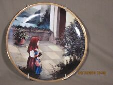 """Precious Moments Bible Story Collectible Plates""""A prayer answered,A promise kept"""