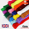 "✅Pipe Cleaners ✅Chenille Craft Stems 30cm 12"" Bristle Bundles assorted Pack UK ✅"