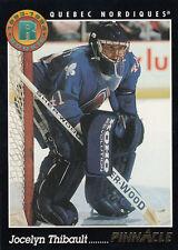 1993-94 Pinnacle #440 Jocelyn THIBAULT RC - Quebec Nordiques