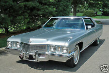 1972 Cadillac Coupe Deville, Refrigerator Magnet, 40 MIL