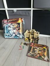 LEGO Indiana Jones Lost Tomb 7621. In-Complete in Original Box. Damage to box