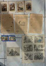 Konvulut: 59 grabados-curiosa - 1700-1900