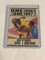 ROOKIE 1996 KOBE BRYANT UPPER DECK Collector's CHOICE ONE on ONE Rookie RC