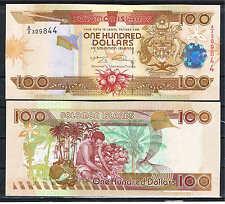 SOLOMON ISLANDS - ISLAS SALOMON 100 DÓLARES 2009  Pick 30  Sign 9    SC  UNC