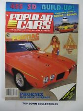 Popular Cars Magazine   April 1987   Long John Silver's 1970 Boss 302 Mustang