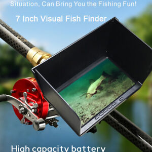 """X11 7"""" 30M Visual Fish Finder AHD Clear Image Night Vision Camera for Ice Boat"""