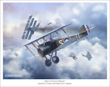 "Sopwith Camel Aviation Art Print 11"" x 14"""