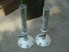 Pair Springfield Marine Seat Pedestal Base Assembly