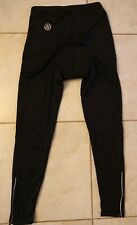NASHBAR Black Nylon/Spandex Gel Pad Bicycle cycling Pants Size large
