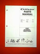 s l225 gilson tractor in outdoor power equipment manuals & guides for sale