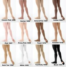 4726627a7cacd Child Dance Tights CONVERTIBLE Revolution Spandex Color-Flow Tan Pink White