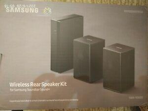 Samsung SWA-9000S Wireless Rear Soundbar Surround Sound Speakers Black BRAND NEW