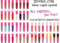 BNIB Jeffree Star Velour Liquid Lipstick Matte FULL SZ! AUTHENTIC ☆ Choose Color