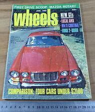1969.WHEELS.FORD GT SUPER ROO.PACER 770 VIP.Cortina.mini.MERCEDES SSK.MAZDA R100
