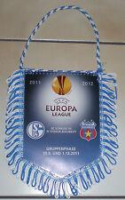FC SCHALKE 04-UEFA EUROPA LEGUE-WIMPEL-GRUPPENPHASE-SCHALKE-STEAUA BUKAREST-2011