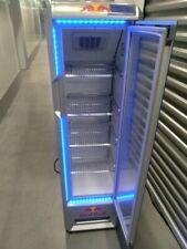 Red Bull Slim Mega Cooler Eco Refrigerator Unit, 5 Foot Tall.