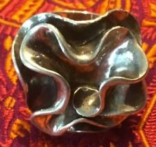 Silpada Sterling Silver Flower Ring Size 9  R1809 Retired! Rare Size!