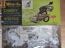 Vintage 1963 Hawk  Weird-ohs Davey The Way out Cyclist Model Kit