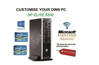 HP 8200  Quad Core i3 i5 Office PC Desktop Computer 8GB 480GB SSD Windows 10