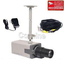 700TVL Security Camera with SONY EFFIO CCD Body Box Day Night CCTV Zoom Lens mfw