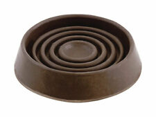 Shepherd  Rubber  Caster Cup  Brown  1-1/2 in. W x 1-1/2 in. L 4 pk Round