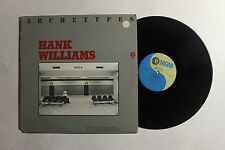 HANK WILLIAMS ‎Archetypes EP MGM Records ‎M3F 4954 Vinyl, LP, Compilation VG+ 13